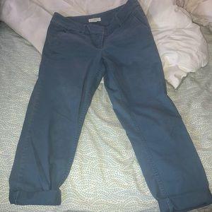 Loft Cuffed ankle pants